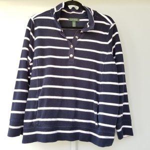 Lauren Ralph Lauren Nautical Pullover Sz 2x